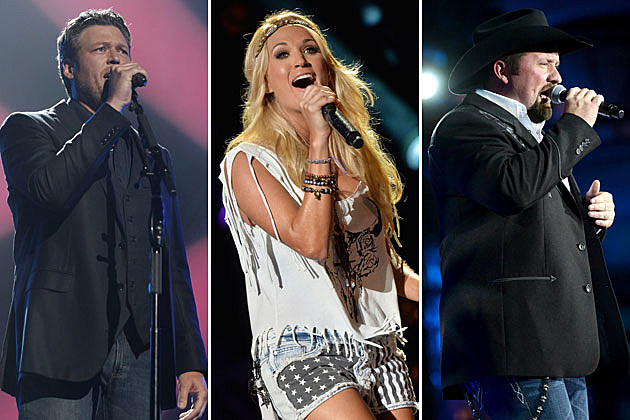 Blake Shelton Carrie Underwood Tate Stevens