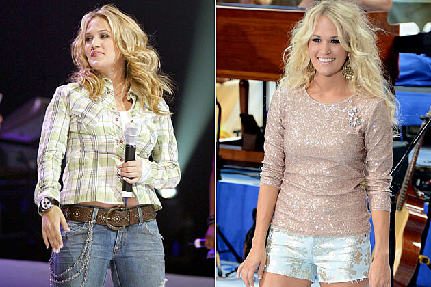 carrie underwood weight loss before and after