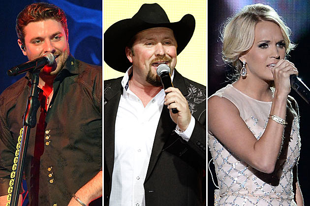 Chris Young Tate Stevens Carrie Underwood