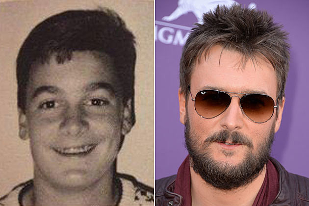 Eric Church yearbook
