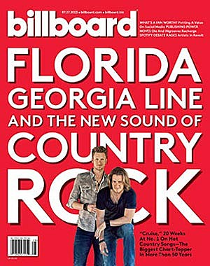 Florida Georgia Line Billboard Cover