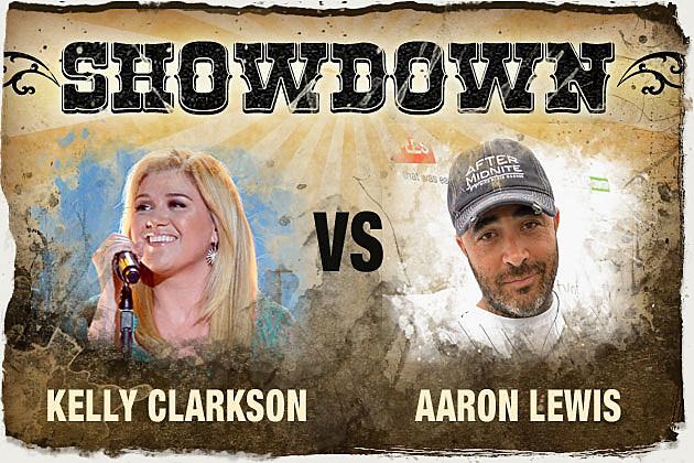 Kelly Clarkson Aaron Lewis