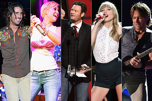 Jake Owen, Kellie Pickler, Blake Shelton, Taylor Swift, Keith Urban