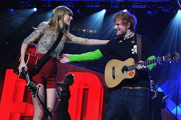Taylor Swift; Ed Sheeran