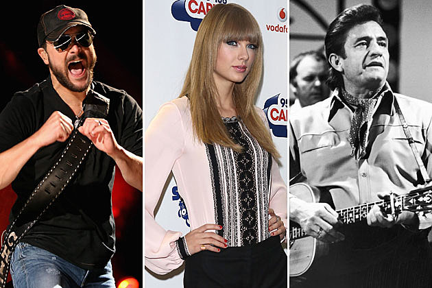 Eric Church Taylor Swift Johnny Cash