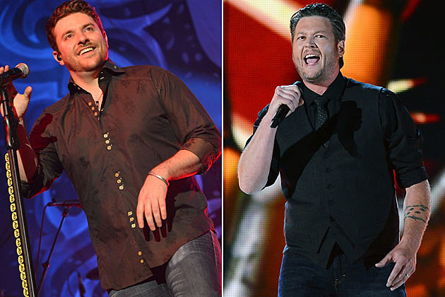 Chris Young and Blake Shelton