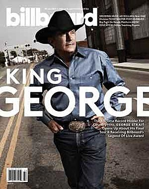 George Strait Billboard Cover