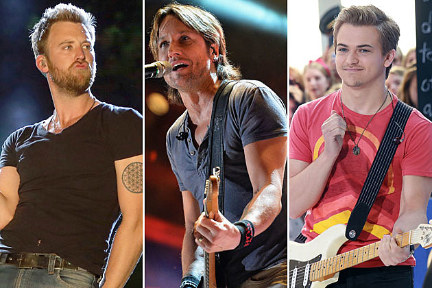 Charles Kelly, Keith Urban, Hunter Hayes