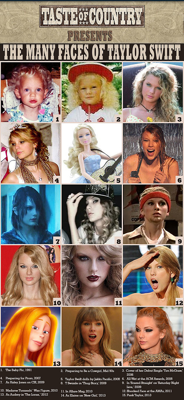 Many Looks Taylor