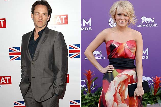 Stephen Moyer Carrie Underwood Sound of Music
