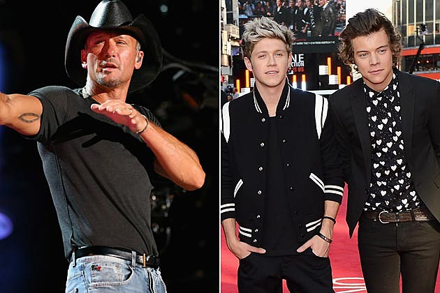 Tim McGraw One Direction