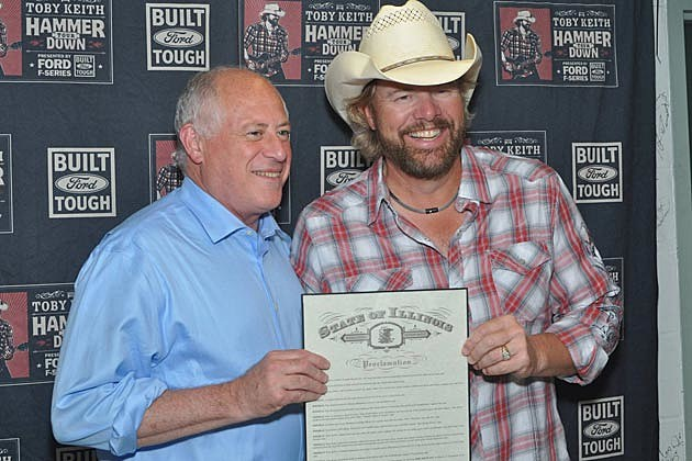 Toby Keith Illinois Dedication