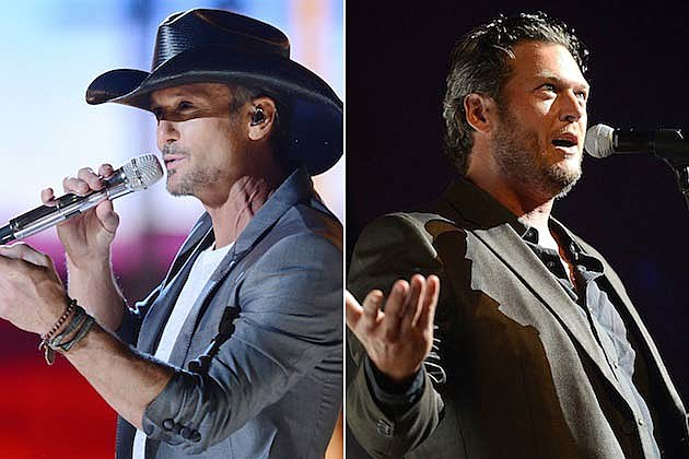 Blake Shelton, Tim McGraw