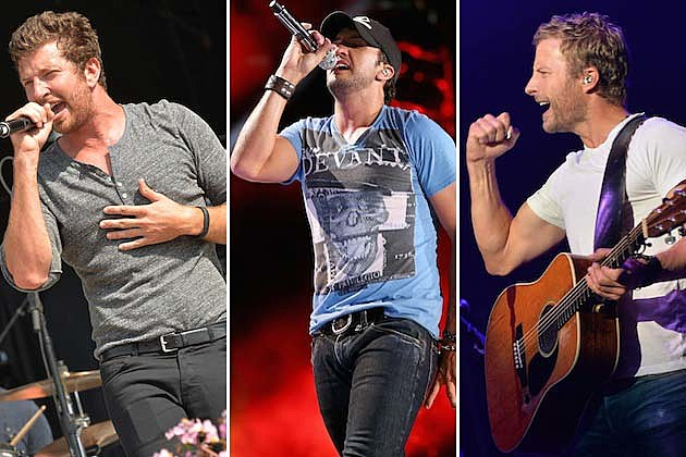 Dierks Bentley, Luke Bryan, Brett Eldredge