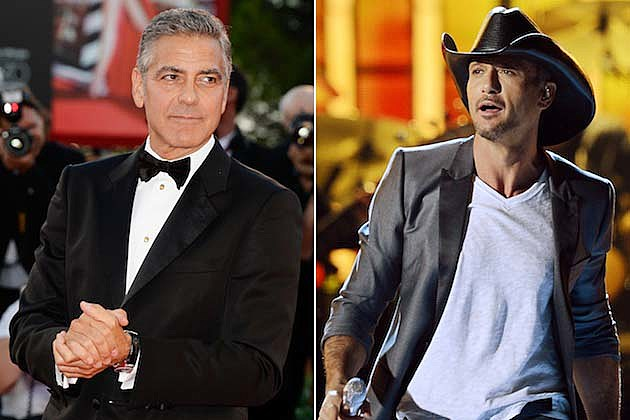 George Clooney, Tim McGraw