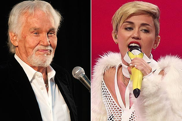Kenny Rogers Miley Cyrus