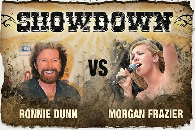 Showdown Ronnie Dunn Morgan Frazier