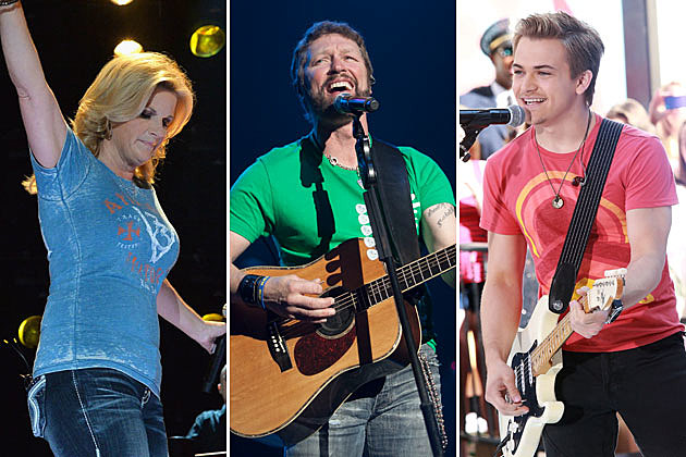 Trisha Yearwood, Craig Morgan, Hunter Hayes