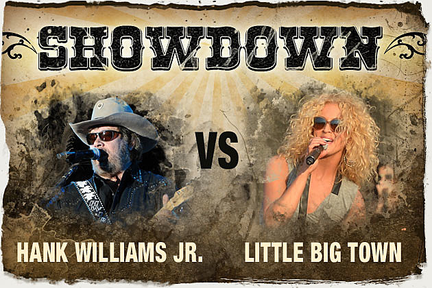 Hank Williams Jr. vs Little Big Town