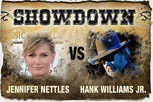 Jennifer Nettles Hank Williams Jr.