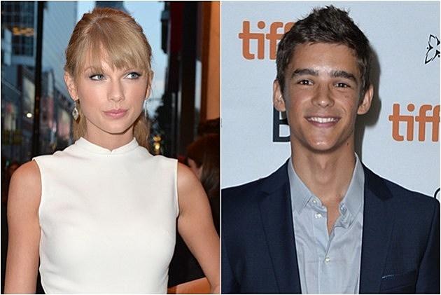 Taylor Swift; Brenton Thwaites