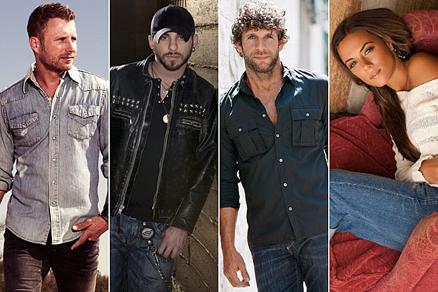 Dierks Bentley, Brantley Gilbert, Billy Currington, Jana Kramer