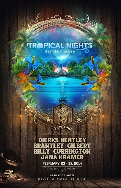 Tropical Nights Poster