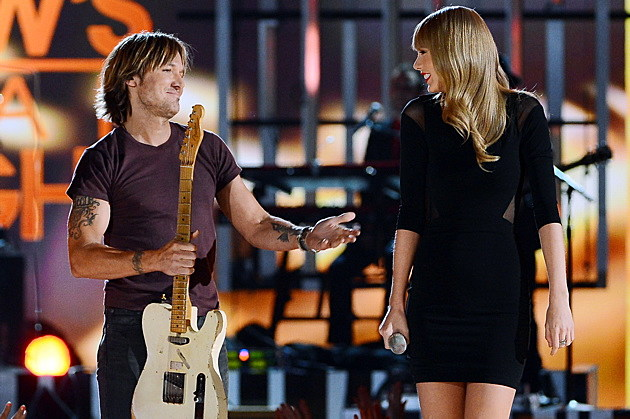 Keith Urban, Taylor Swift
