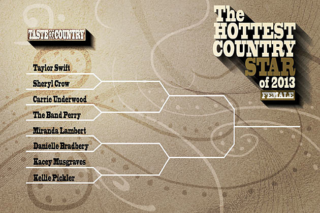 Hottest Country Female Round 1 Bracket