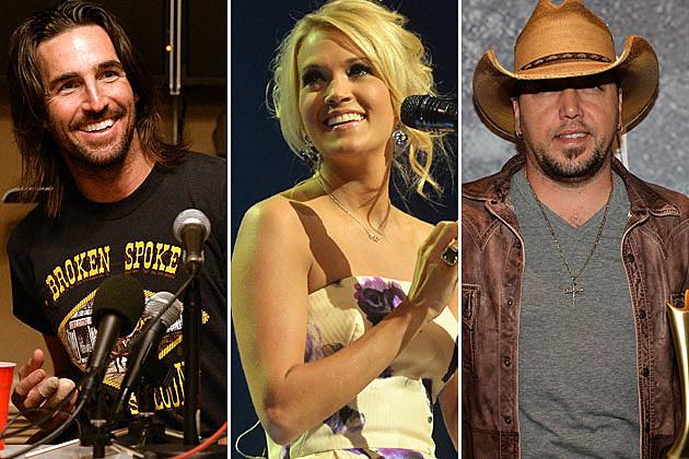 Jake Owen, Carrie Underwood, Jason Aldean