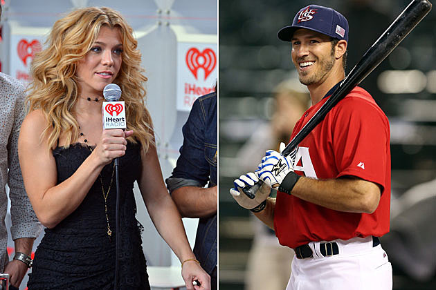 Kimberly Perry, J.P. Arencibia.