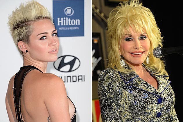 Miley Cyrus Dolly Parton