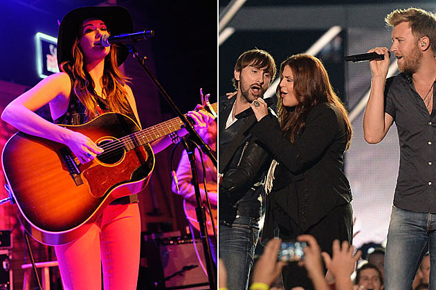 Kacey Musgraves, Lady Antebellum