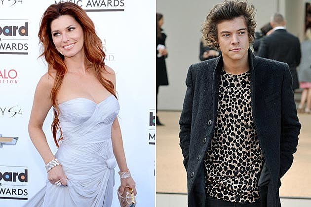 Shania Twain Harry Styles One Direction