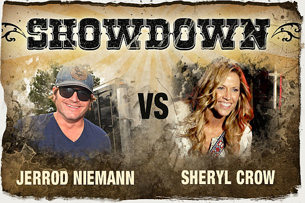 Jerrod Niemann vs. Sheryl Crow