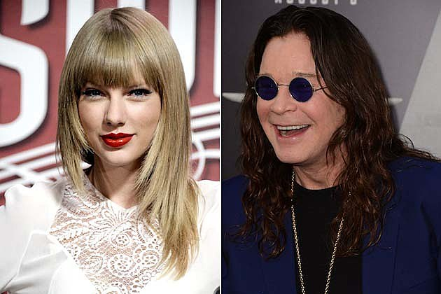 Taylor Swift, Ozzy Osbourne