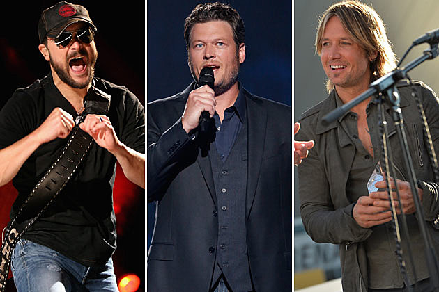 Eric Church, Blake Shelton, Keith Urban
