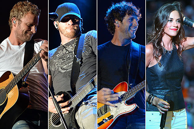 Dierks, Brantley, Billy, Jana