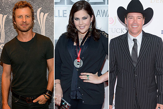 Dierks Bentley, Hillary Scott, Clay Walker