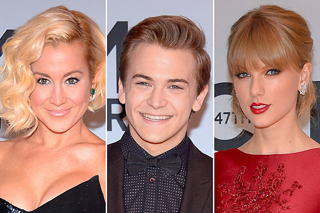 Kellie Pickler, Hunter Hayes, Taylor Swift