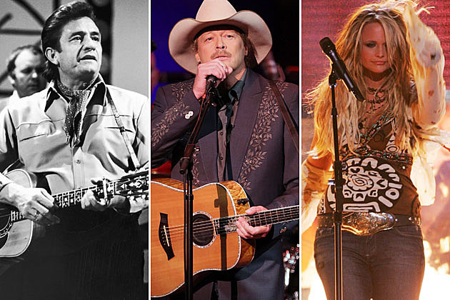 Johnny Cash, Alan Jackson, Miranda Lambert