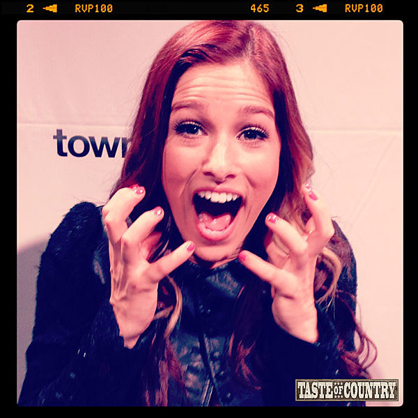 Cassadee Pope Shocked