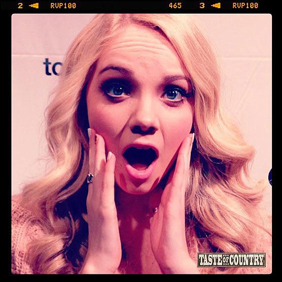 Danielle Bradbery Shocked