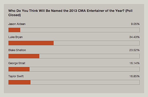 Entertainer of the Year Poll 2013