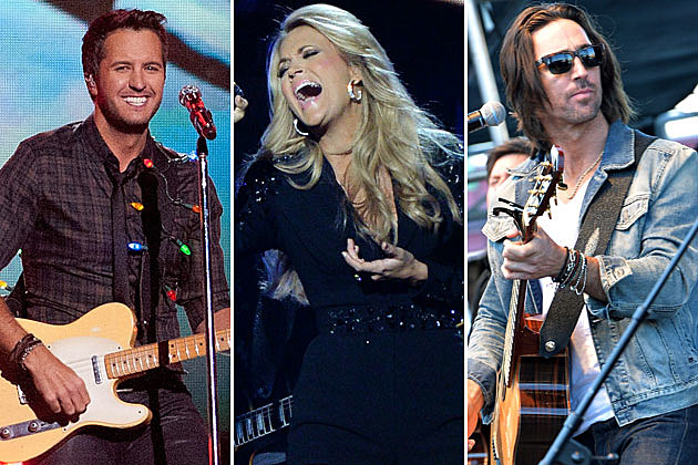 Luke Bryan, Carrie Underwood, Jake Owen