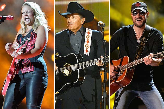 George Strait, Miranda Lambert, Eric Church