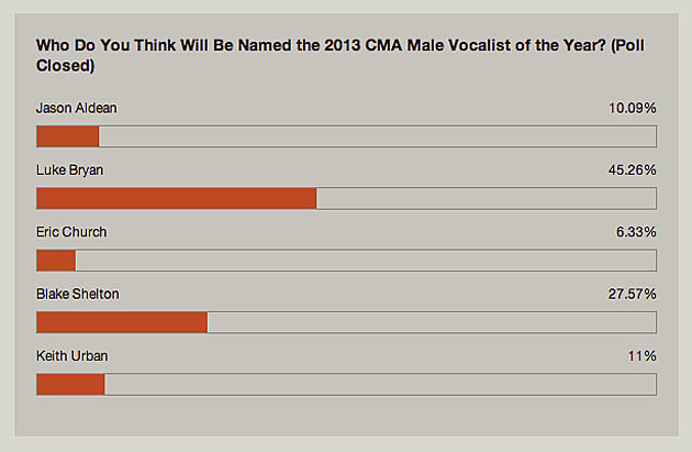 Male of the Year Poll 2013