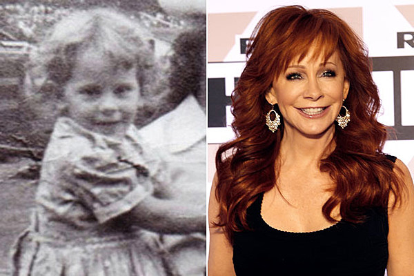 it 39 s reba mcentire as a kid