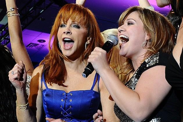 Reba McEntire, Kelly Clarkson