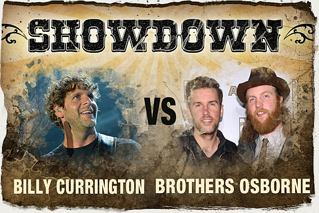 Billy Currington, Brothers Osborne